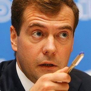 Дмитрий Медведев - Президент РФ