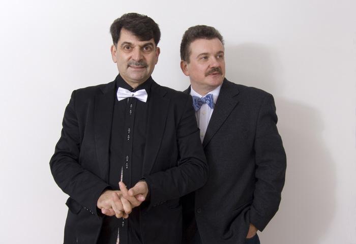 поэт Владимир Вишневский и художник Андрей Рыбаков