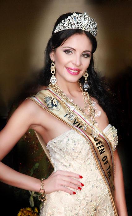 Елена Шерипова – первая вице-миссис международного фестиваля-конкурса «Queen of the planet». о. Мальта, декабрь 2014 года