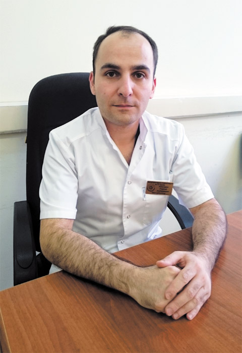 Георгий Ахназарян – врач-диагност Фитнес-центра   «С.С.С.Р. на Можайке»