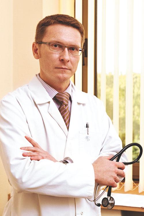 Гайсенок Олег Владимирович - врач-кардиолог высшей  категории, к.м.н.