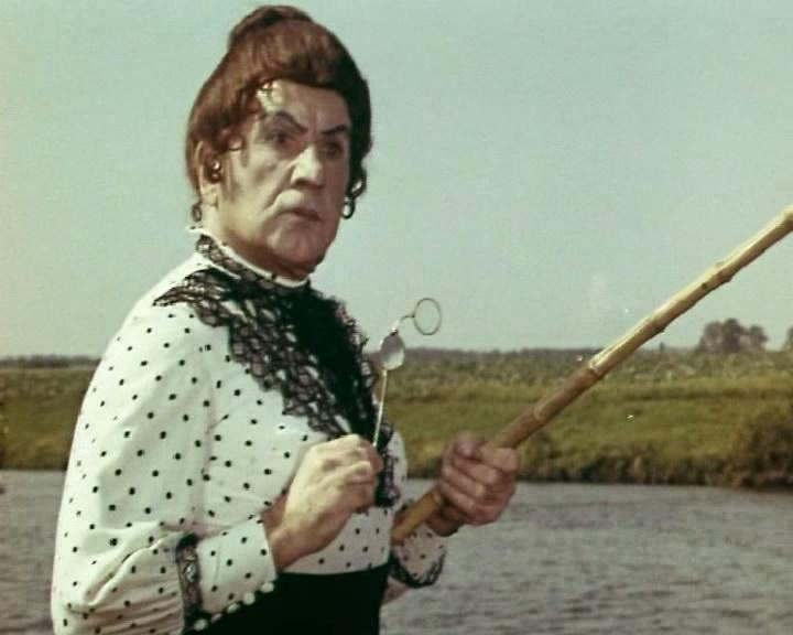 «Эти разные, разные, разные лица», комедия (1972 г., реж. Игорь Ильинский, Юрий Сааков)