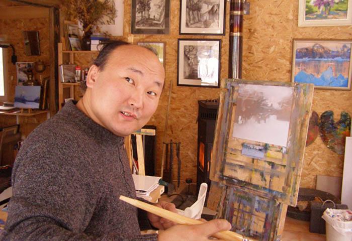 Бато Дугаржапов - художник-импрессионист