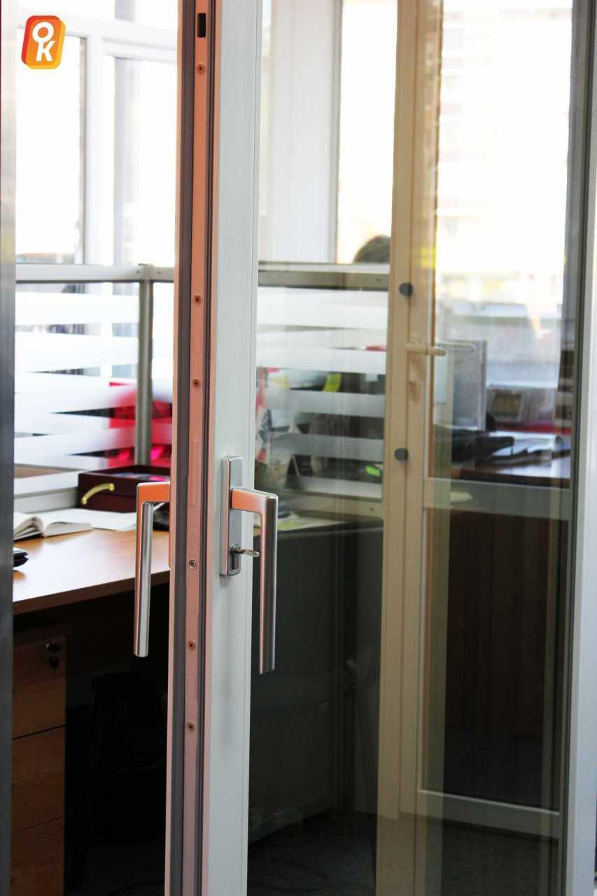 Инновационный механизм отпирания дверей VEKASLIDE от компании Окна Комфорта