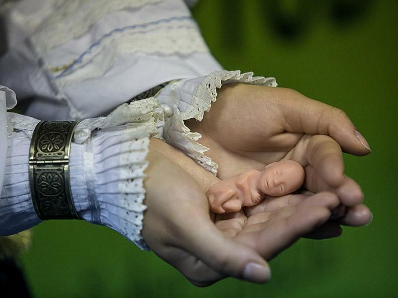 модель ребенка на 12 неделе развития