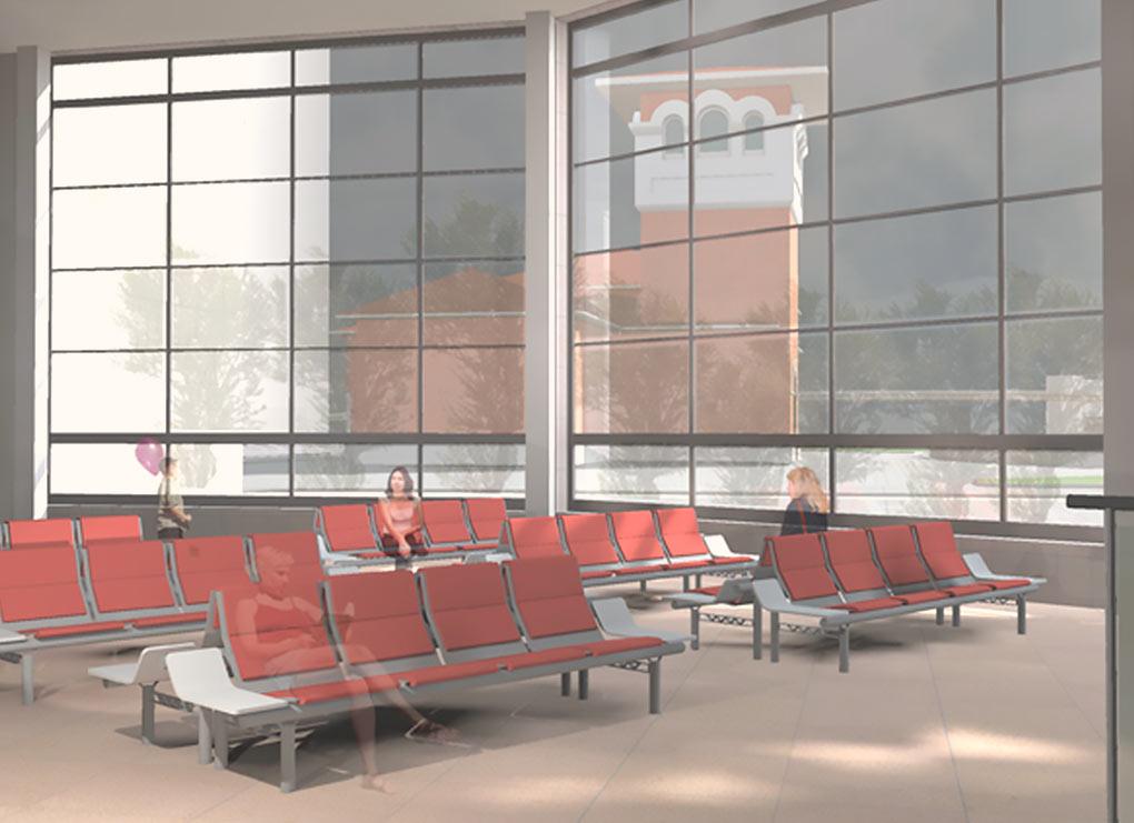 Зона ожидания. Проект возможного ТПУ в Одинцово от компании Центральное архитектурное бюро