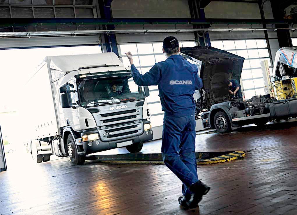 Scania v Golicyno
