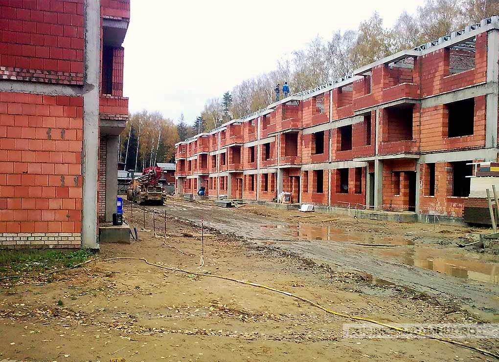 Посёлок Dream House в Трёхгорке