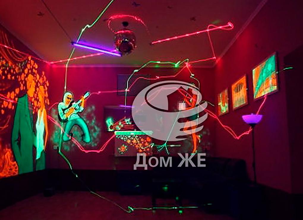 Ночной клуб на цокольном этаже дома в Барвихе
