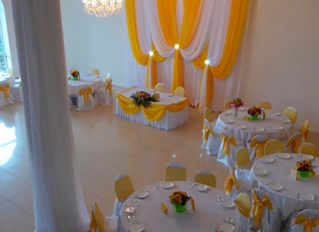 17 спален и зал торжеств для новогодних свадеб