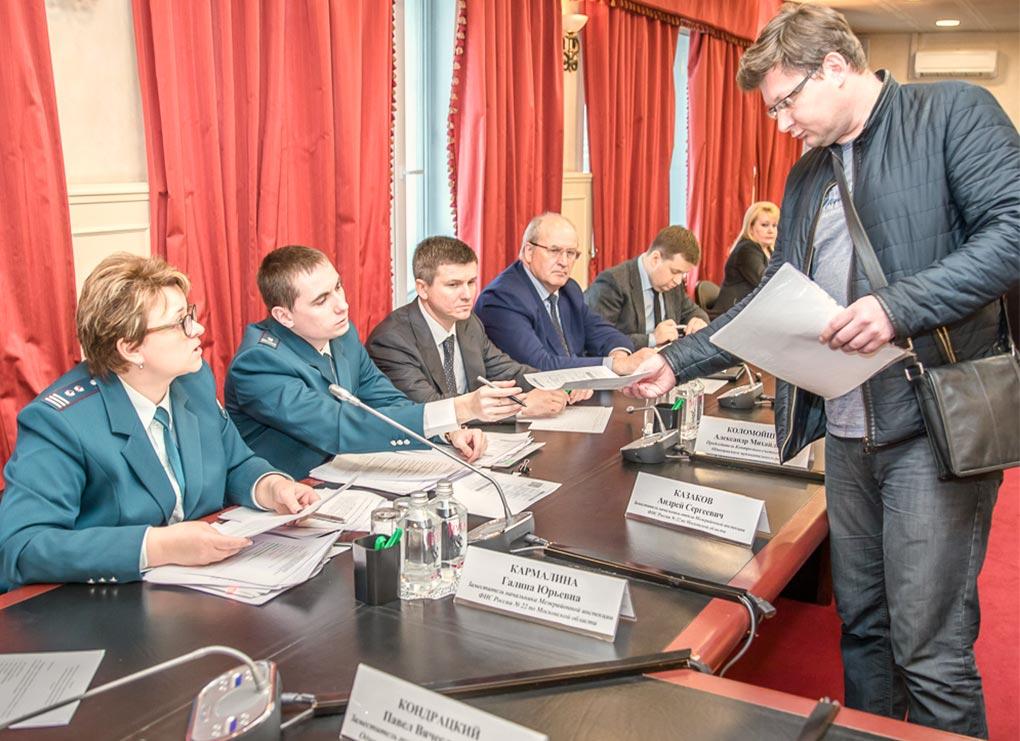Dolzhniki pered budgetom, Odincovskiy rayon