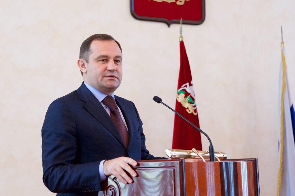 Игорь Брынцалов, спикер Московской областной думы
