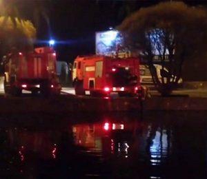 Пожар произошел в развлекательном комплексе «Голицын клуб» в Одинцовском районе