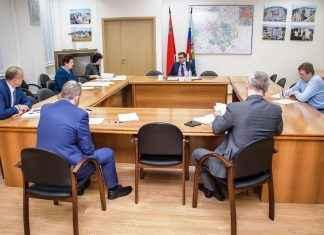 Максим Фомин встреча с дольщиками ЖК Западные ворота столицы
