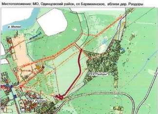 дорога Рублево-Раздоры