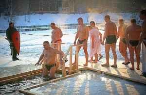 крещение купания Одинцовский район