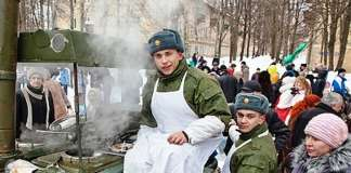 ярмарка Одинцово 23 февраля