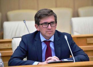 Максим Фомин, глава Министерства стройкомплекса Подмосковья