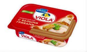 сыр Viola с белыми грибами