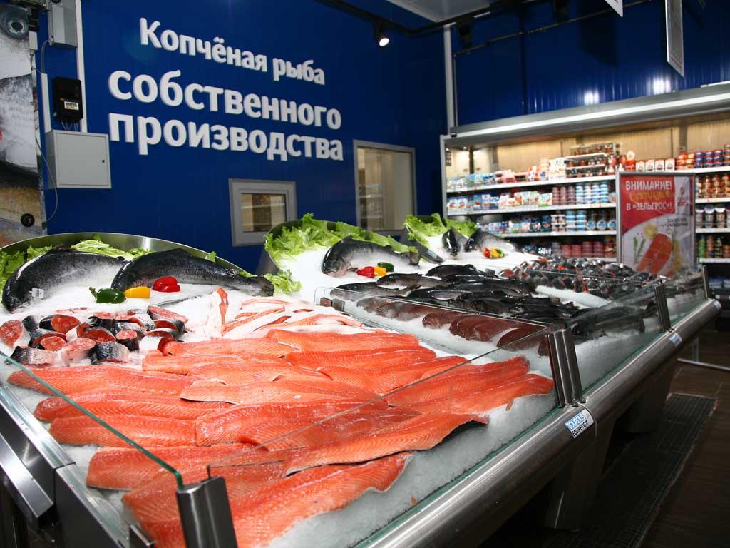 ТЦ Зельгрос в Одинцово (рыбный отдел)