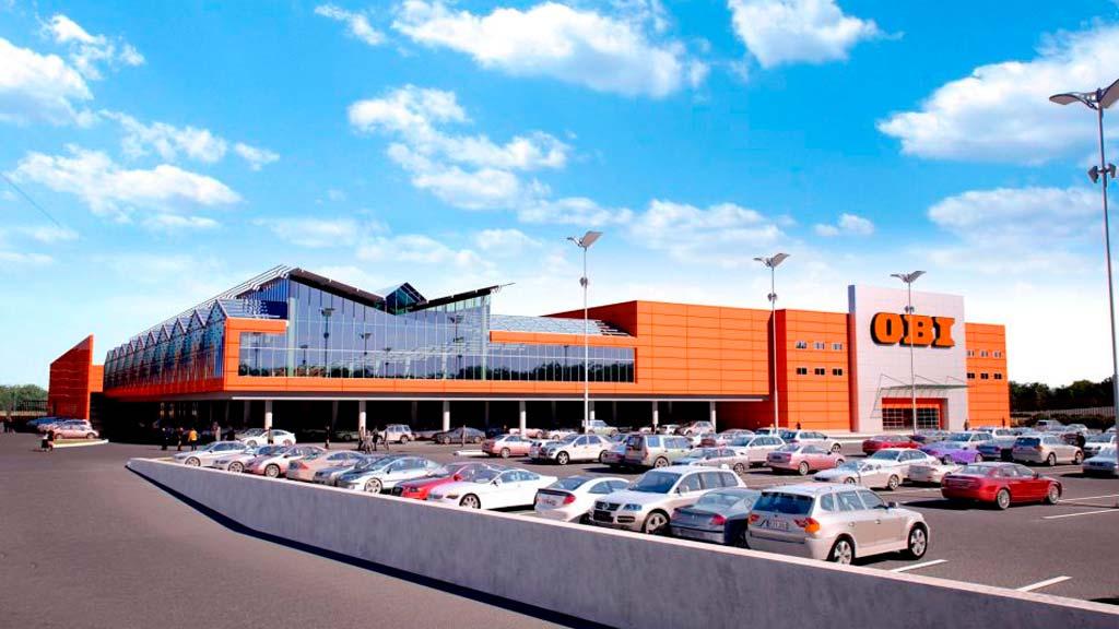 OBI-гипермаркет ОБИ в Одинцово (р.п.Новоивановское)