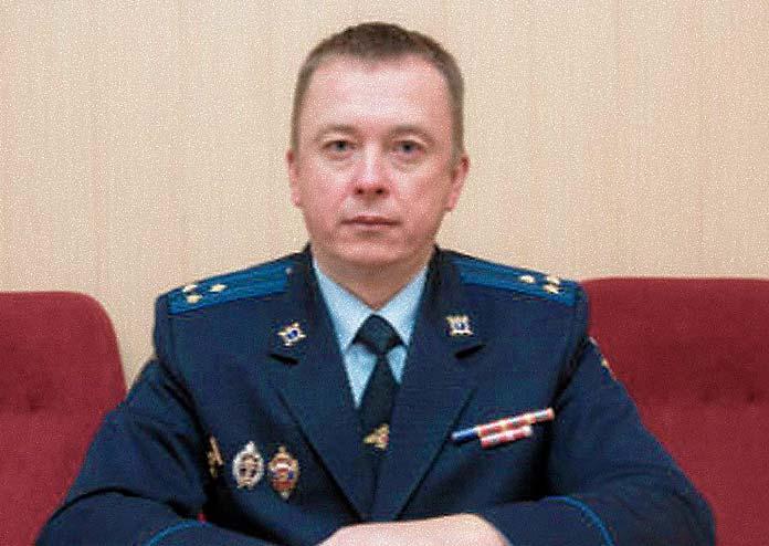 Начальник следственного управления МУ МВД России «Одинцовское» Дмитрий Федянин