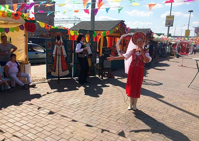медово-яблочная ярмарка на рынке Одинцовское подворье