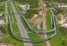 Внуковская развязка на Минском шоссе