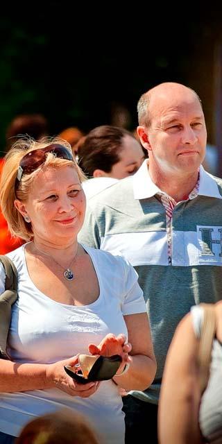 Вялков с супругой Светланой