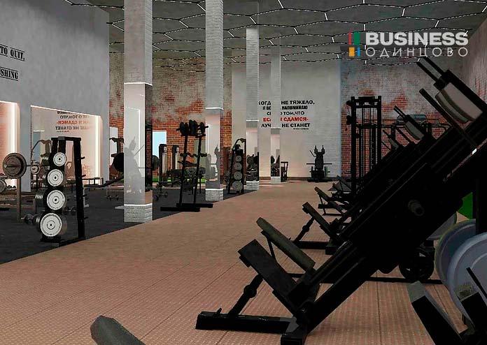 Фитнес-клуб-Концепт-тренажерный зал