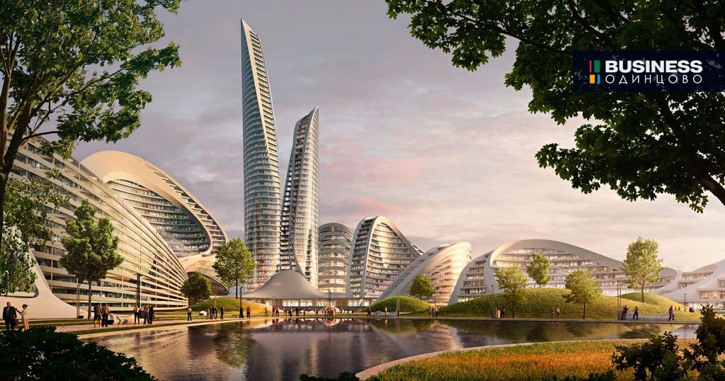 Дизайн-проект умного города