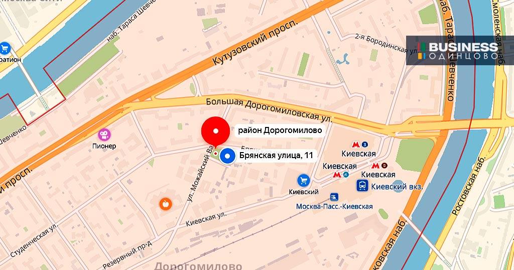 Москва, ул.Брянская, вл.13