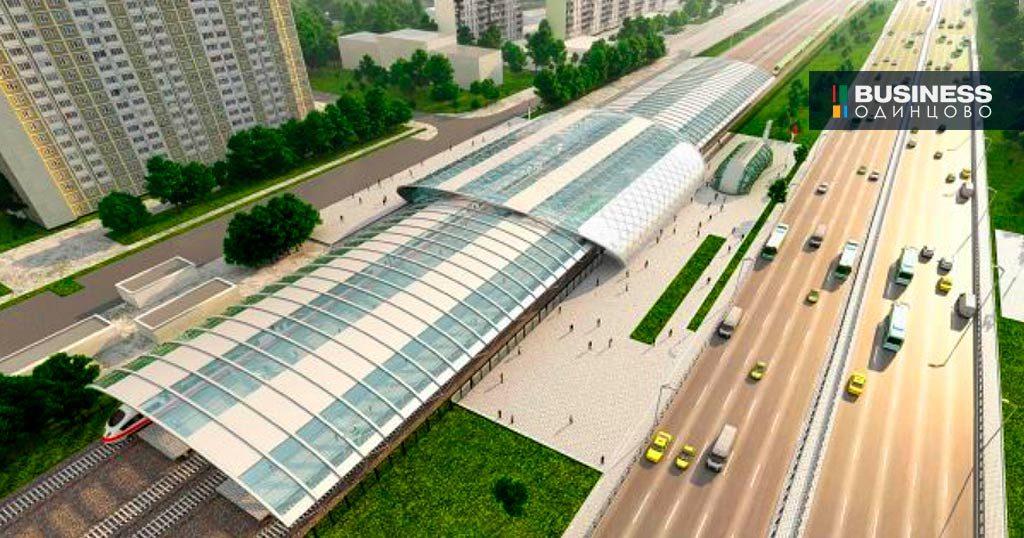 Проект объединенной станции Славянский бульвар